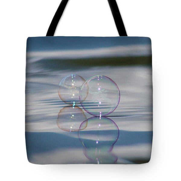 Tote Bag featuring the photograph Magic On The Water by Cathie Douglas