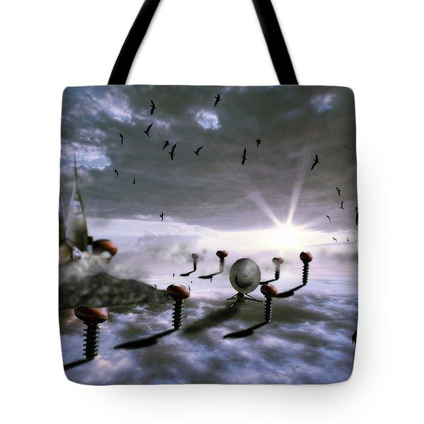 Magic Shrooms Tote Bag by Nathan Wright