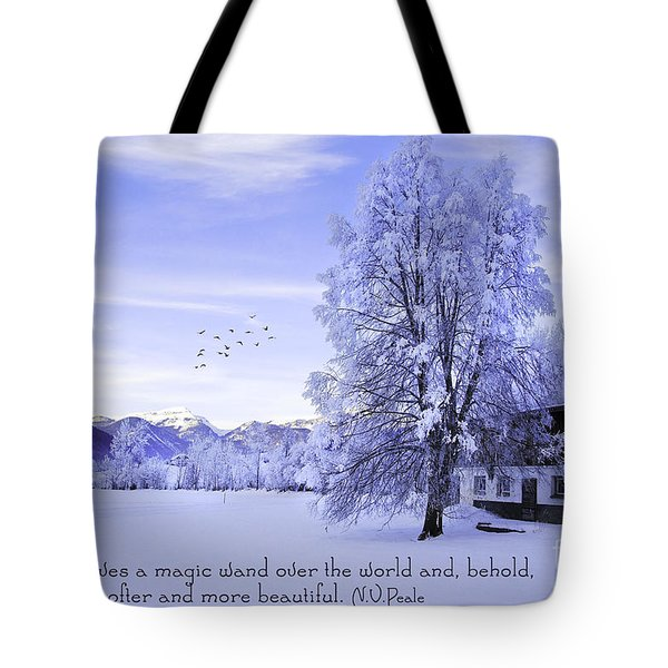 Magic Wand Tote Bag