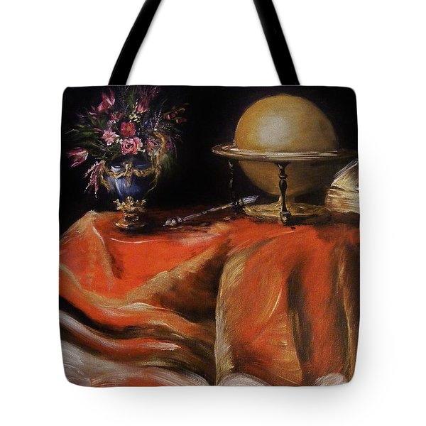 Tote Bag featuring the painting Magical Beginnings by Karen  Ferrand Carroll