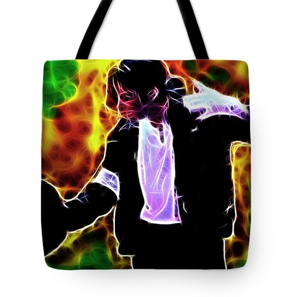 Magical Michael Tote Bag by Paul Van Scott