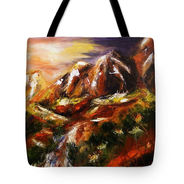 Magical Morn Tote Bag