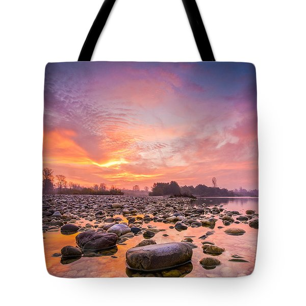 Magical Morning Tote Bag by Davorin Mance