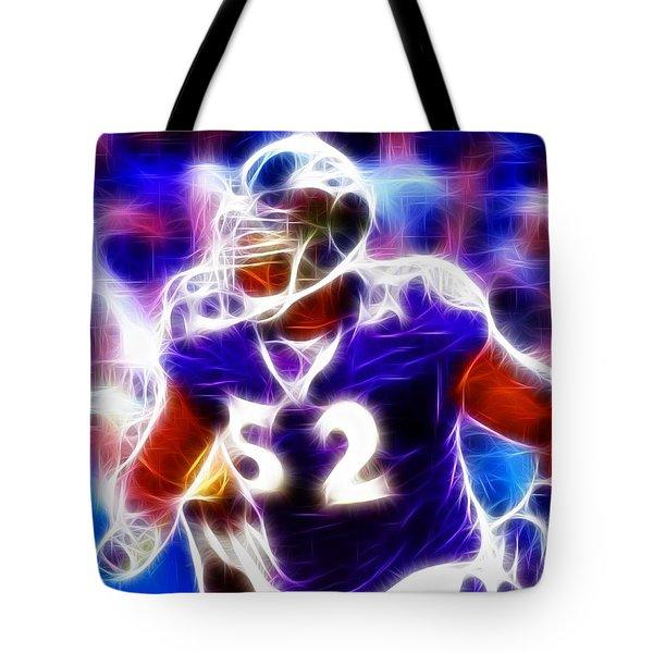 Magical Ray Lewis Tote Bag by Paul Van Scott