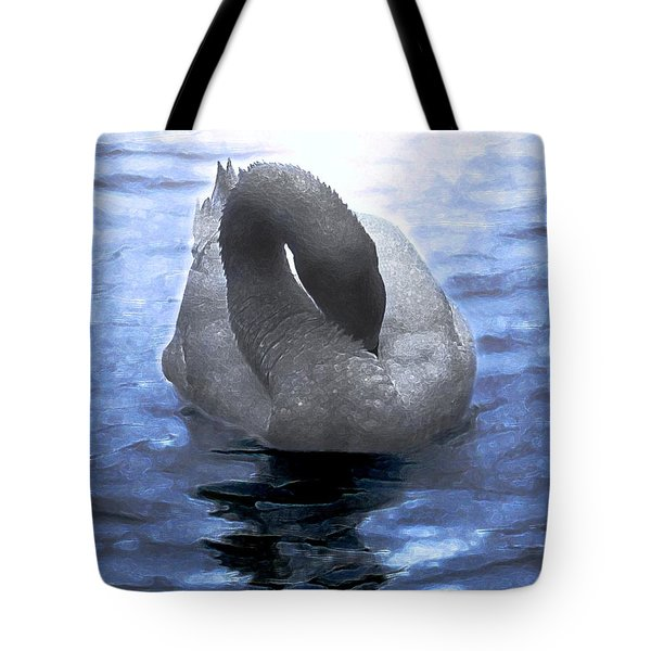 Magical Swan Tote Bag