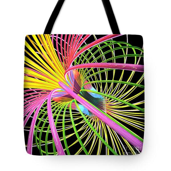 Magnetism 4 Tote Bag