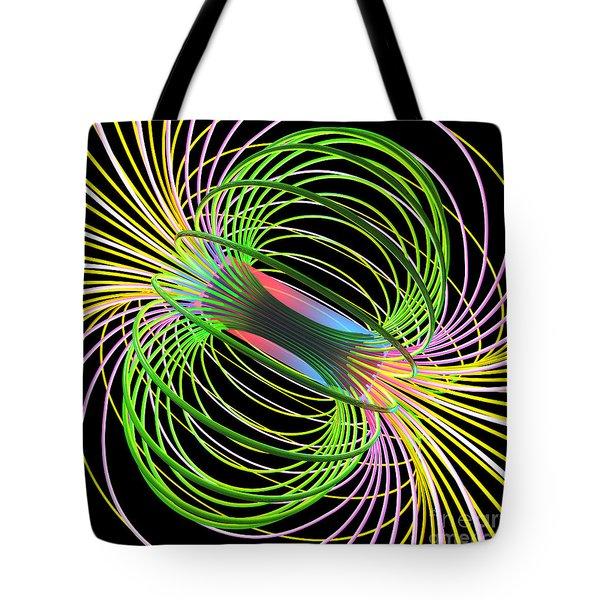 Magnetism 5 Tote Bag
