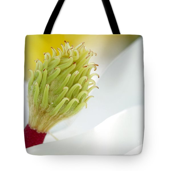 Magnificant Magnolia Macro  Tote Bag by Sabrina L Ryan