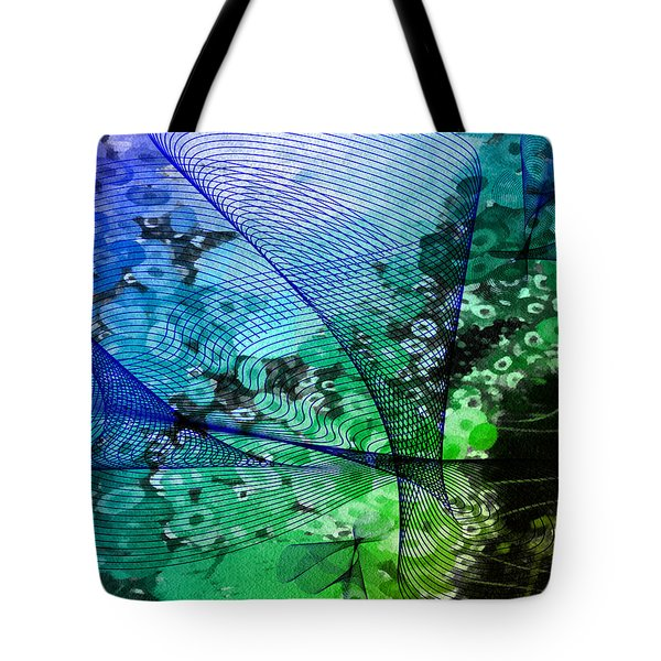 Magnification 2 Tote Bag by Angelina Vick