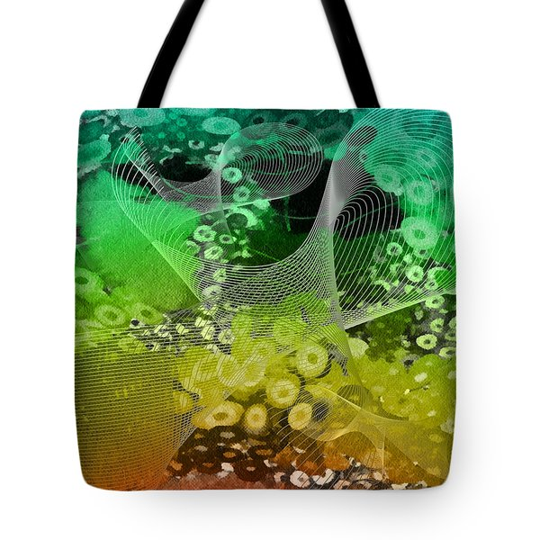 Magnification 3 Tote Bag by Angelina Vick