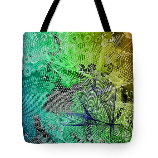 Magnification 5 Tote Bag by Angelina Vick