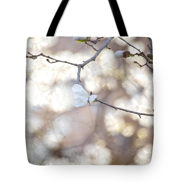 Tote Bag featuring the photograph Magnolia Dream by Susan Cole Kelly