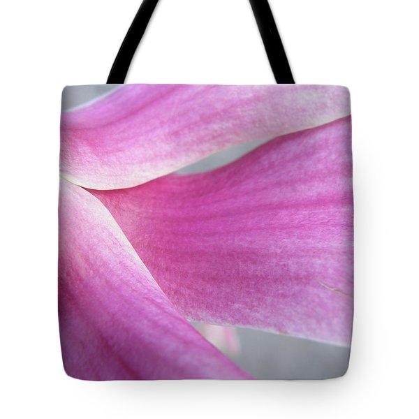 Magnolia In Half Tote Bag