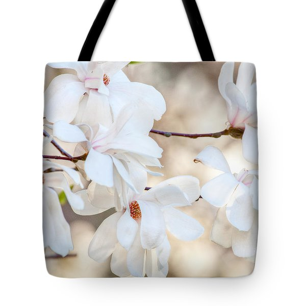 Tote Bag featuring the photograph Magnolia Spring by Susan Cole Kelly