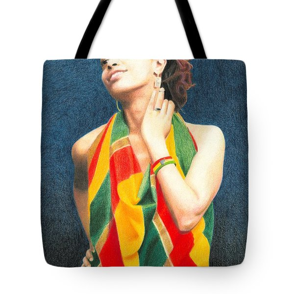 Mahlet Portrait Tote Bag