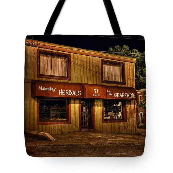 Mainstay At Night Tote Bag