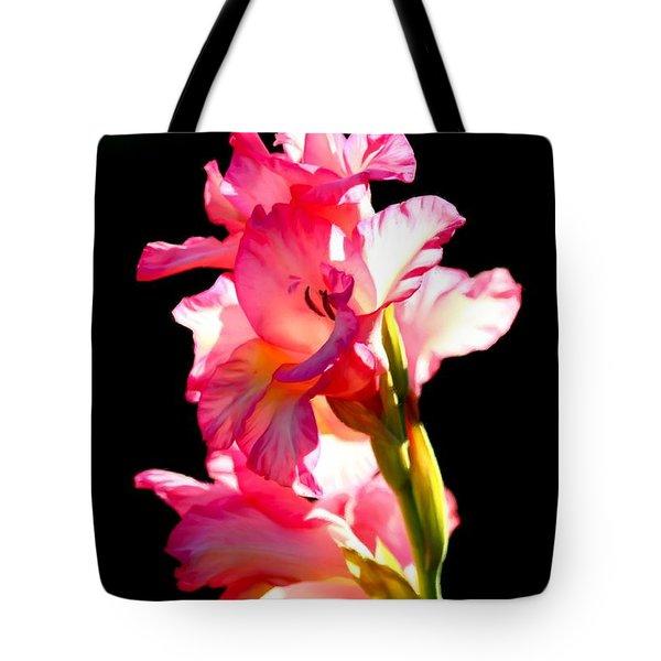Majestic Gladiolus Tote Bag