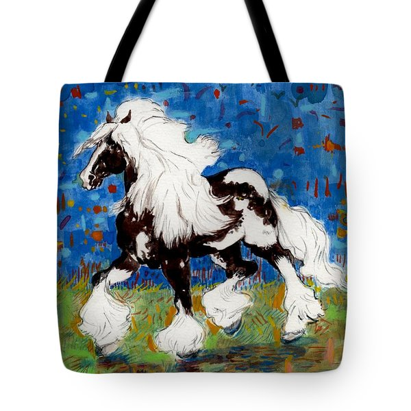 Majestic One Tote Bag by Mary Armstrong