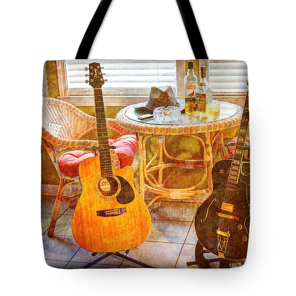 Making Music 004 Tote Bag by Barry Jones