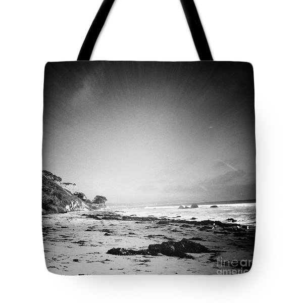 Tote Bag featuring the photograph Malibu Peace And Tranquility by Nina Prommer