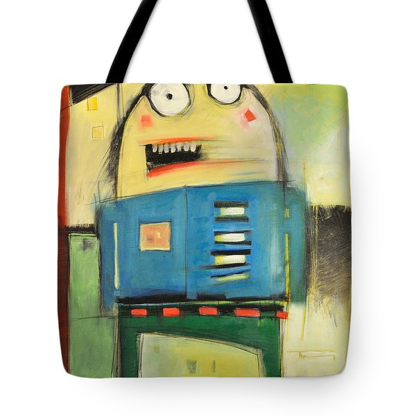 Mall Cop Tote Bag by Tim Nyberg