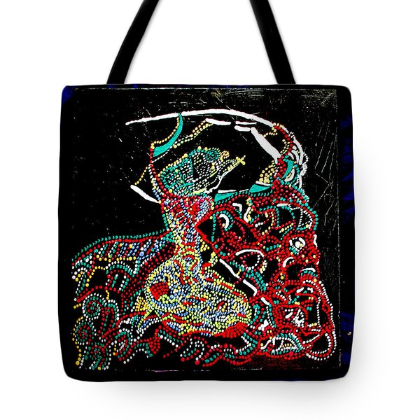 Mama Dinka - South Sudan Tote Bag by Gloria Ssali