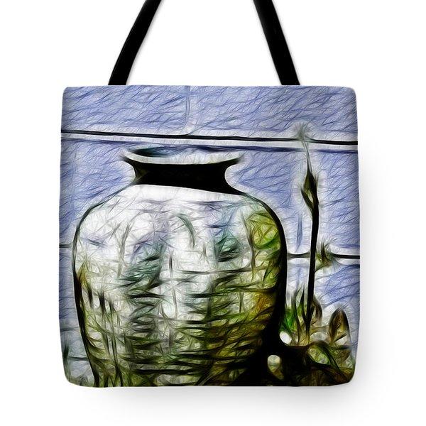 Mamas Old Vase Tote Bag