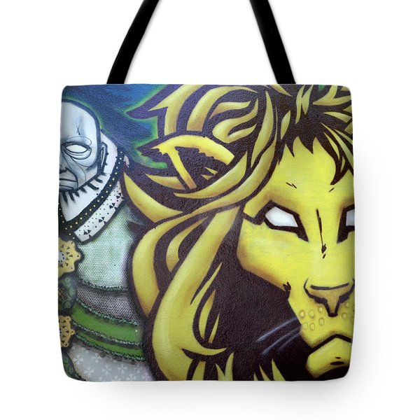 Man And Beast Tote Bag by Bob Christopher