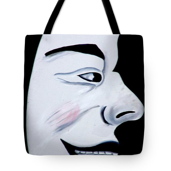 Man In The Moon Tote Bag by Jeff Lowe