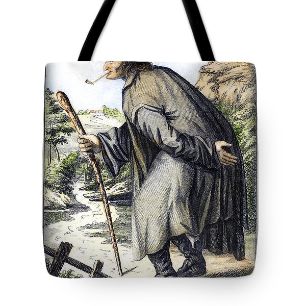 Man With Cane, C1795 Tote Bag by Granger