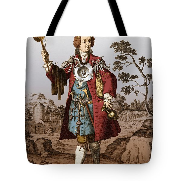 Man With Surgical Equipment Tote Bag by Science Source
