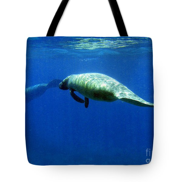 Manatee Magic Tote Bag