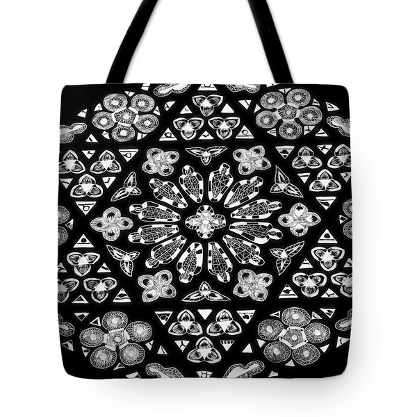Mandala Of Hope Phase 1 Tote Bag