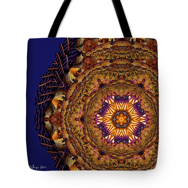 Mandala Of Pure Presence Tote Bag