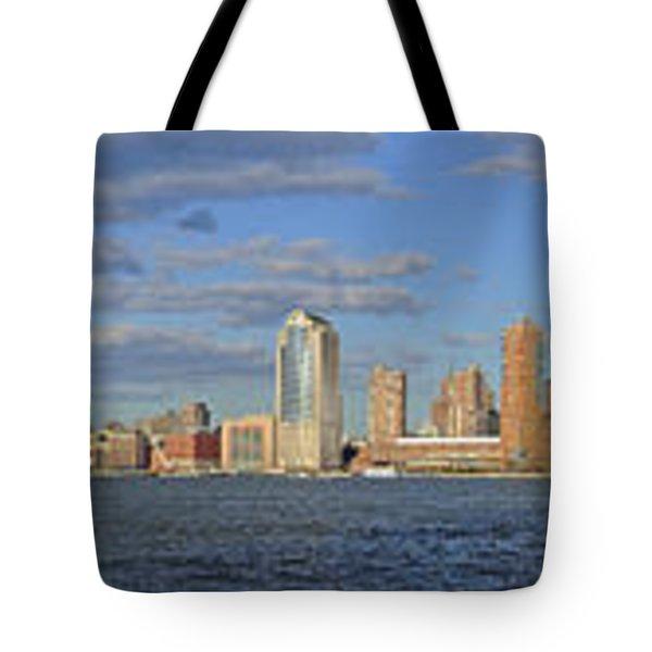Manhattan - Hudson View Tote Bag