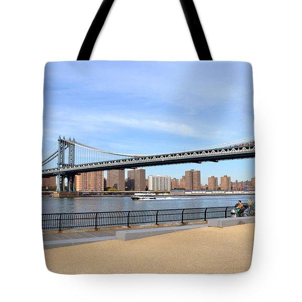 Manhattan Bridge1 Tote Bag
