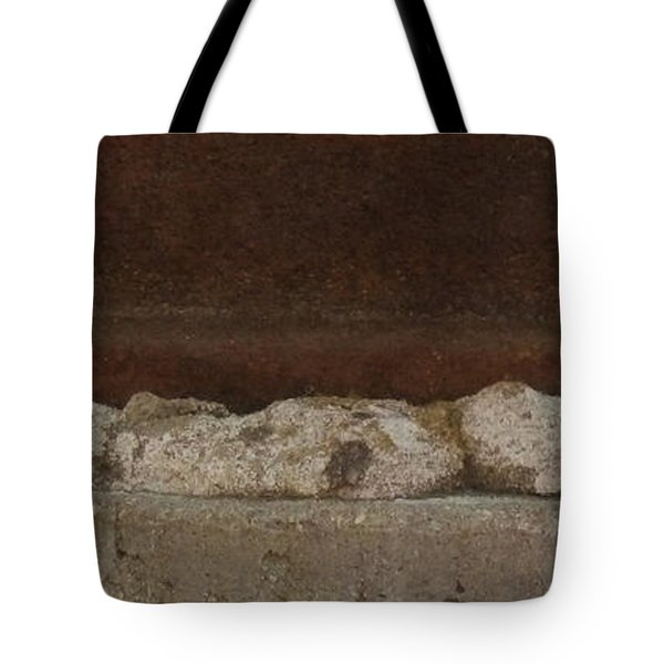 Manhole Cover And Rock Tote Bag