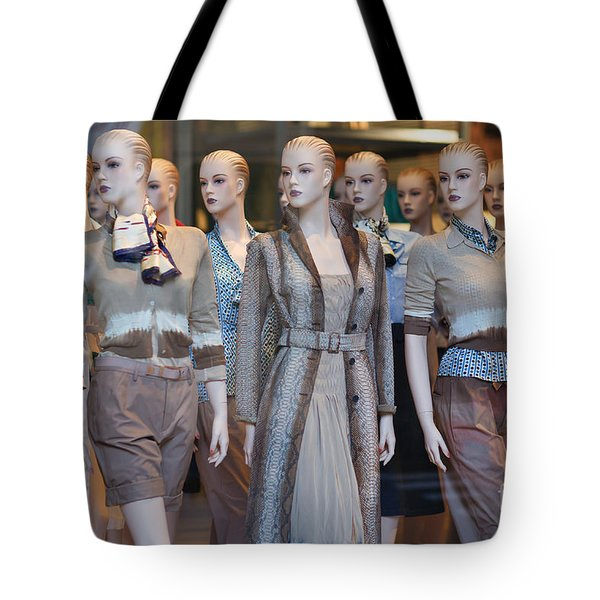 Mannequins I Tote Bag by Clarence Holmes