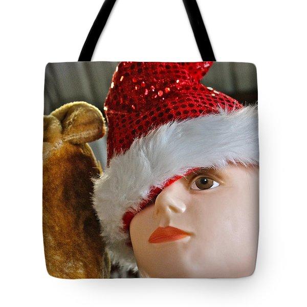 Manniquin Santa 2 Tote Bag by Bill Owen