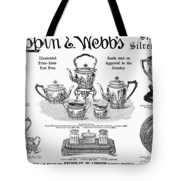 Mappin & Webbs, 1892 Tote Bag by Granger