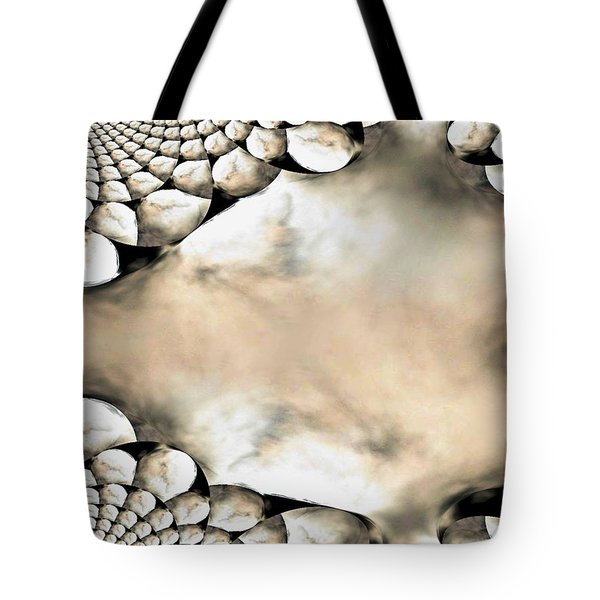 Marble Abstract Tote Bag by Maria Urso