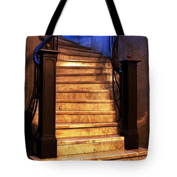 Marble Stairs Tote Bag