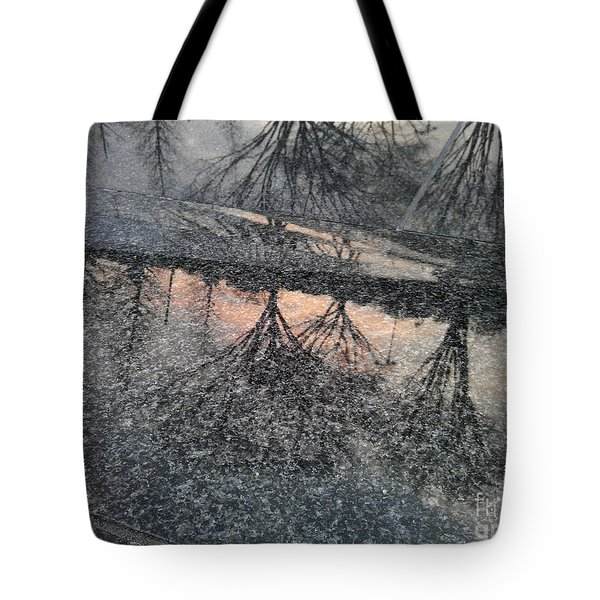 Marble Sunset Tote Bag