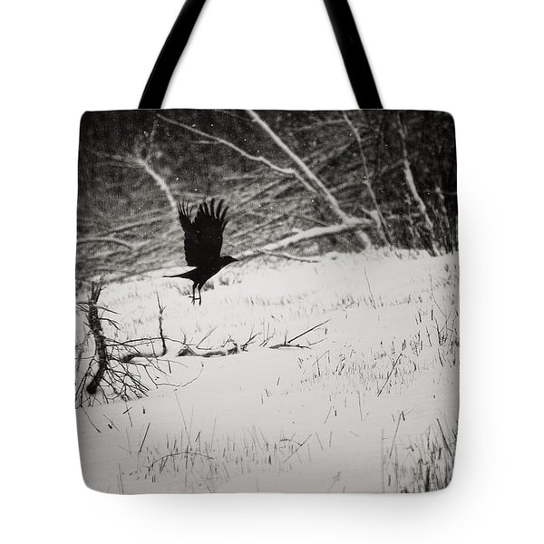 March Raven Tote Bag