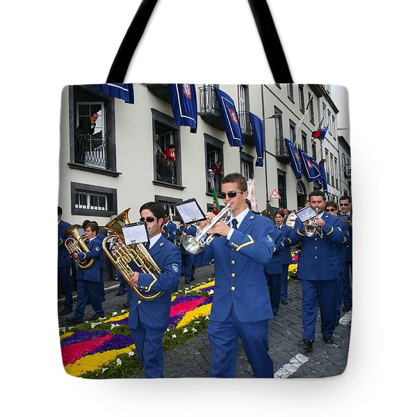 Marching Band Tote Bag by Gaspar Avila