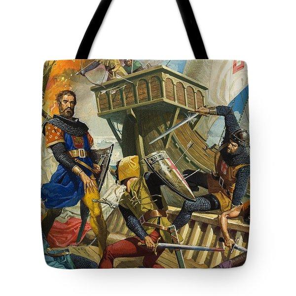 Marco Polo Tote Bag by Severino Baraldi