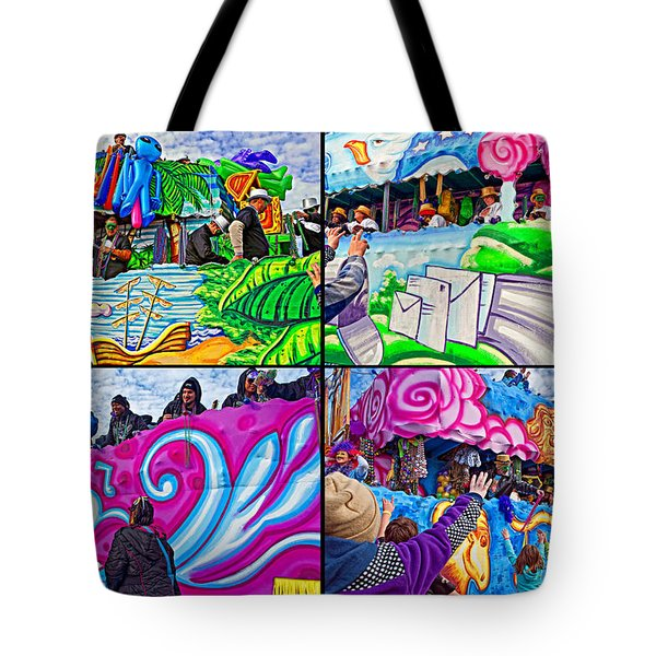 Mardi Gras Fun Tote Bag by Steve Harrington