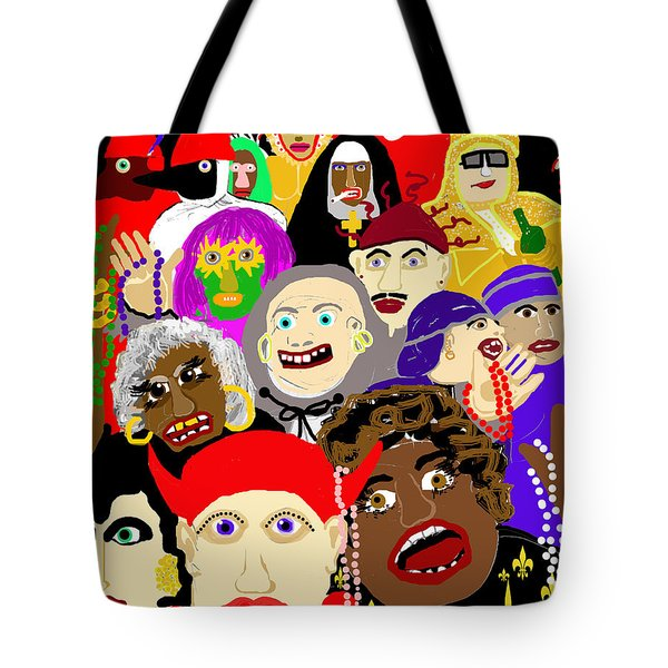 Mardi Gras New Orleans Tote Bag