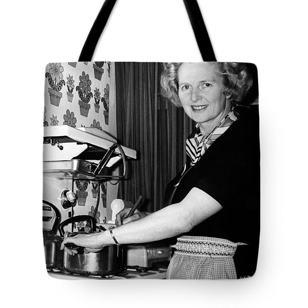 Margaret Thatcher (1925- ) Tote Bag by Granger