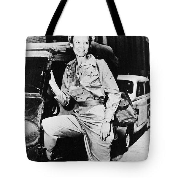 Marguerite Higgins Tote Bag by Granger